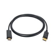 AKYGA kábel Display Port - HDMI monitor kábel, 1.8m
