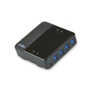 ATEN USB Periféria Elosztó 4PC 4Eszköz US434
