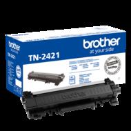 BROTHER Toner TN-2421, Nagy kapacitású - 3000 oldal (ISO/IEC 19752), Fekete