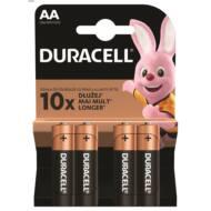 Duracell BSC 4 db AA elem - DL