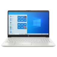 "HP 15-dw2002nh, 15.6"" FHD AG, Core i3-1005G1, 8GB, 128GB SSD, 1TB, Win 10, ezüst"