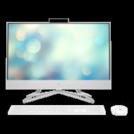 "HP AIO 24-df0002nn, 23.8"" FHD AG UWVA, Core i3-10100T, 8GB, 256GB SSD, fehér"