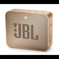 JBL Go 2 bluetooth hangszóró, vízhatlan (pezsgő), JBLGO2CHAMPAGNE, Portable Bluetooth speaker