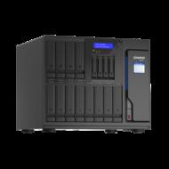 QNAP NAS 16 fiókos TVS-h1688X-W1250-32G XEON 6x3,3GHz, 2x26GB RAM, 4x2.5G/1G/100M,  2 x 10GBASE-T (10G/1G)