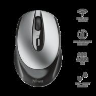 TRUST Vezeték nélküli tölthető egér 23809, Zaya Rechargeable Wireless Mouse - black