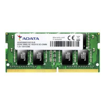 ADATA NB Memória DDR4 16GB 2666Mhz SODIMM