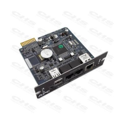 APC UPS Network Management Card 2 with Environmental Monitoring, UPS hálózatkezelő kártya környezet monitoring opcióval