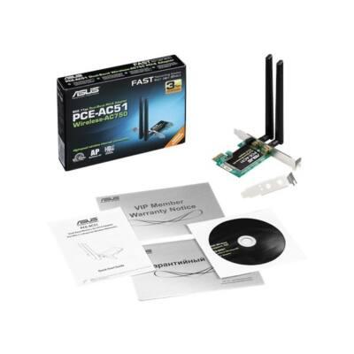 ASUS PCI-E Adapter PCE-AC51 AC750