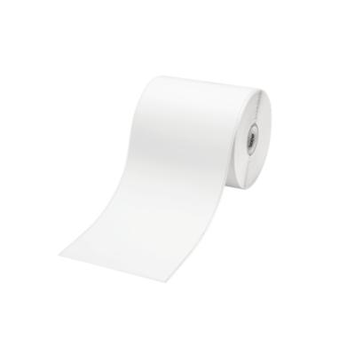 BROTHER Etikett címke RDS01E2, Folytonos papír címke, Fehér alapon Fekete, 102mm x 44.3M