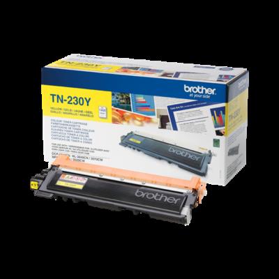 Brother Toner TN-230Y, 1400 oldal (ISO/IEC 19798), Sárga
