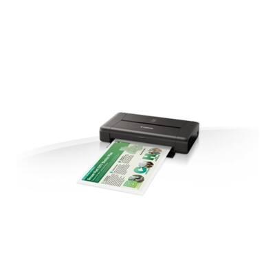 CANON Tintasugaras nyomtató PIXMA IP110+BATTERY, USB, A4 20lap/perc FF, 9600x2400