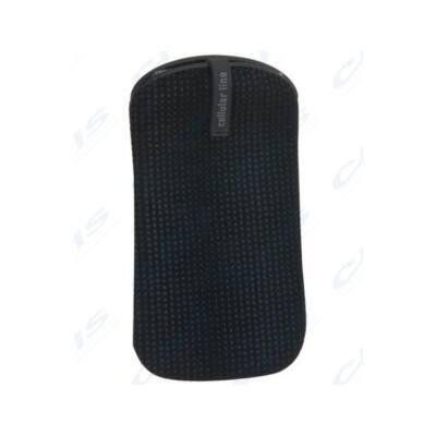 Cellularline Tok, CLEAN, mobiltelefon tok, polírozó béléssel, Univerzális, fekete, M méret