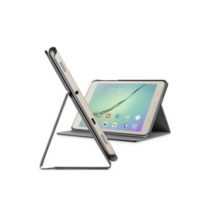 """Cellularline Tok, FOLIO, tablet, kitámasztható, Samsung Galaxy Tab S2 8""""(2016), fekete"""