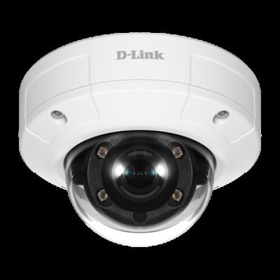 D-Link Kamera - DCS-4633 - Vigilance 3 MP 1920x1080 Vandálbiztos Vízálló Wired POE Fix Kültéri Dome