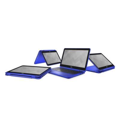 """Dell Inspiron 3168 2in1 11.6"""" HD, Intel Pentium N3710 (2.56 GHz), 4GB, 500GB Win 10 kék"""