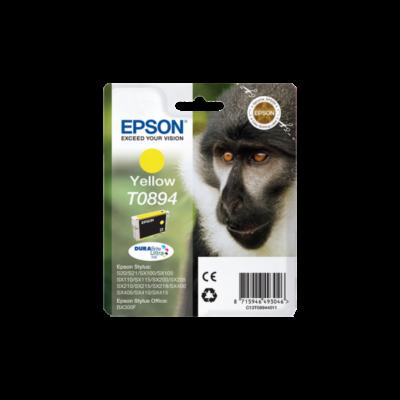 EPSON Patron Stylus S20/SX100/SX105/BX300F, Sárga (Yellow)