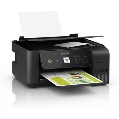 EPSON Tintasugaras nyomtató - EcoTank L3160 (A4, MFP, színes, 5760x1440 DPI, 33 lap/perc, USB/Wifi)