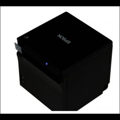 Epson blokknyomtató, TM-M30 (112), 200mm/s, 203dpi, 80mm, LAN/USB/Bluetooth, fekete