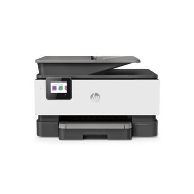 HP Tintasugaras MFP NY/M/S/F Officejet Pro 9013 USB/Háló/WLAN, A4 22lap/perc FF(ISO), 4800x1200, Síkágyas, ADF
