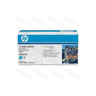 HP Toner CLJ CE261A kék 11000/oldal