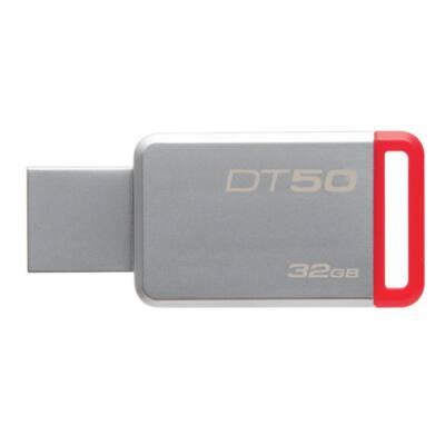 KINGSTON Pendrive 32GB, DT 50 USB 3.0, fém (100 MB/s olvasás)