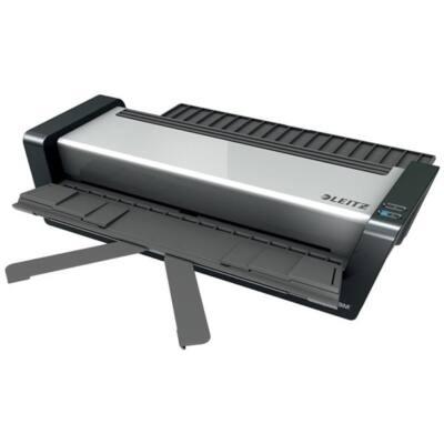 """LEITZ Laminálógép, A3, 80-250 mikron, """"iLAM Touch 2 Pro"""", ezüst"""