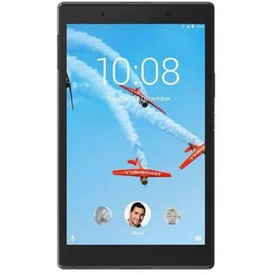 """LENOVO Tab4 8 (TB-8504X), 8"""" HD IPS, Qualcomm MSM8917 Quad-Core, 2GB, 16GB EMMC, 4G LTE, Android 7.1, Fekete"""