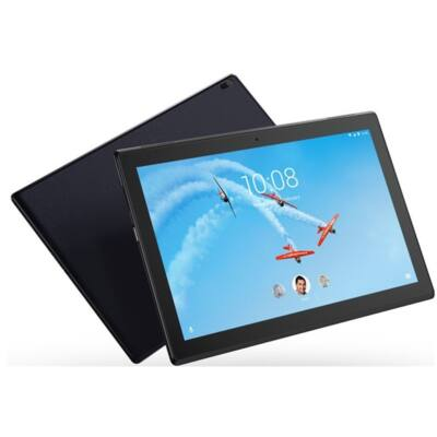 "LENOVO Tab4 10 (TB-X304L), 10.1"" HD IPS, Qualcomm MSM8917 Quad-Core, 2GB, 16GB EMMC, 4G LTE, Android 7.1, Fekete"