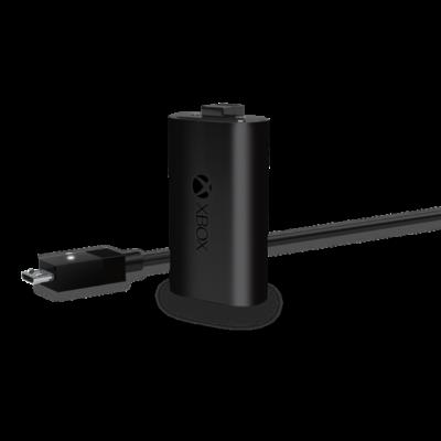 MS Xbox One Kiegészítő Play & Charge Kit töltő