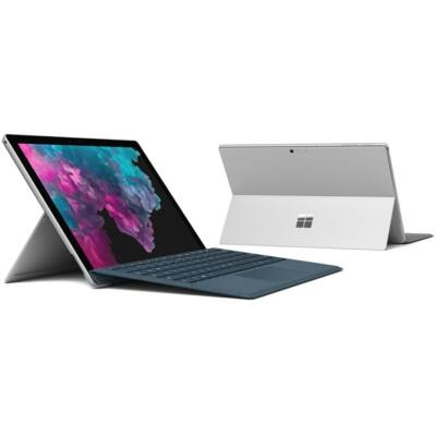 "Microsoft Surface Pro 6 - 12.3"" (2736 x 1824) - Core i7 (8650U, HD 620) - 8GB RAM - 256GB SSD - Windows 10 Home, Plat"