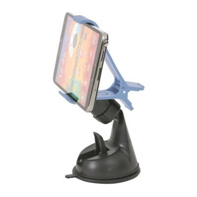 OMEGA Univerzális autós okostelefon tartó - Fekete/kék