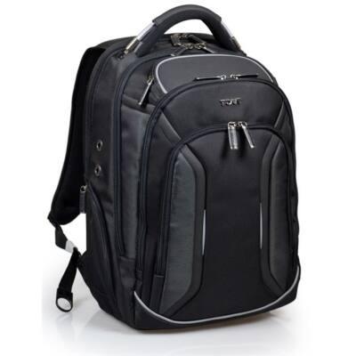"""Port Designs Melbourne notebook hátizsák, Rain Cover, RFID Protection, 15,6"""", fekete"""
