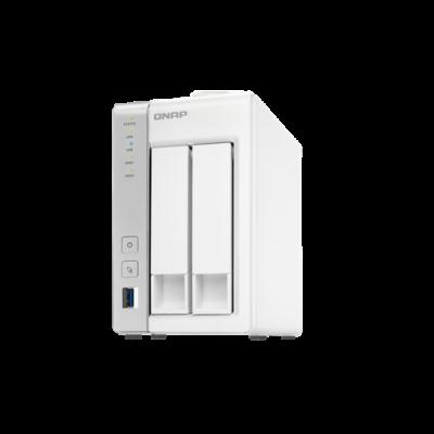 QNAP NAS 2 fiókos TS-231P 2x1.7Ghz, 1GB RAM, 2x10/100/1000, 3xUSB3.0