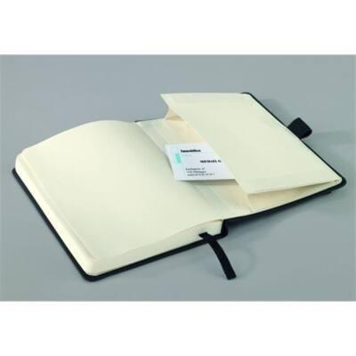 """SIGEL Jegyzetfüzet, exkluzív, A5, kockás, 194 oldal, keményfedeles, SIGEL """"Conceptum"""", fekete"""