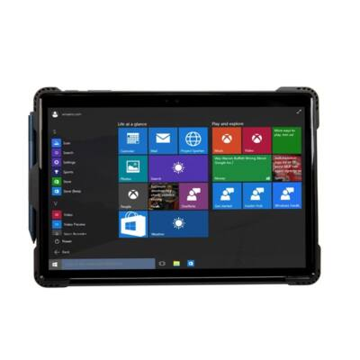 TARGUS Tablet tok THD137GLZ, SafePort Rugged Case for Microsoft Surface Pro (2017) & Surface Pro 4
