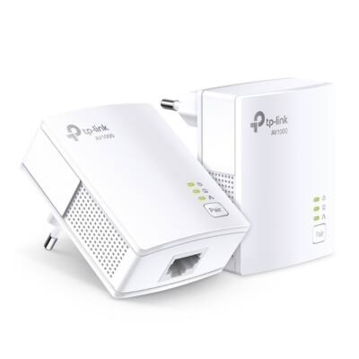 TP-LINK Powerline AV1000 1x1000Mbps, TL-PA7017-KIT