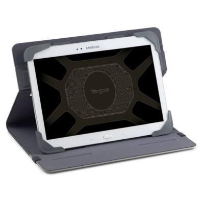 "TARGUS Tablet tok, Fit N' Grip 7-8"" Rotating Universal Tablet Case - GREY"