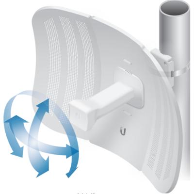 UBiQUiTi Antenna -  LBE-M5-23 - airMAX LiteBeam 1x1 MIMO 5GHz 23dBi kültéri Kliens