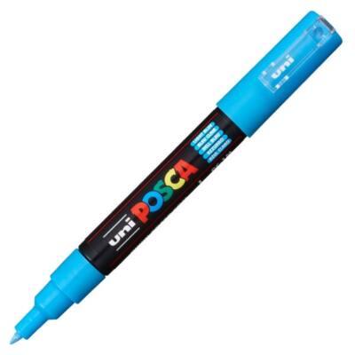 UNI POSCA Marker Pen PC-1M Extra-Fine - Light Blue