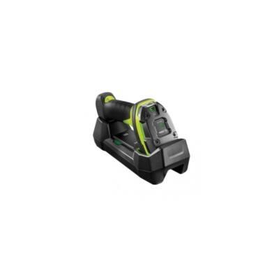 ZEBRA vonalkód olvasó, vezeték nélküli, DS3678-SR, BT, 2D, SR, multi-IF, kit(USB), fekete, zöld