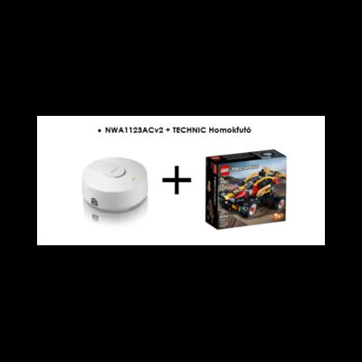 ZYXEL Access Point Smoke Detector Dual Radio AP Business WLAN
